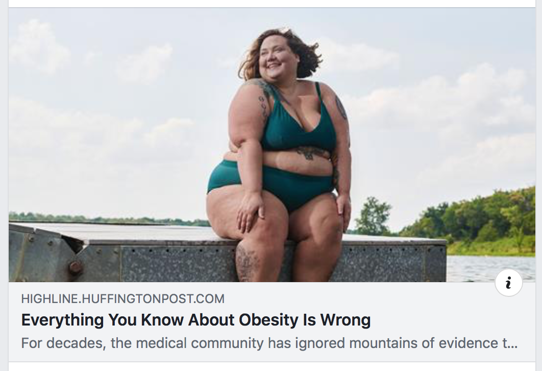 Some Things You Know About Obesity Are Wrong… But So Were Some Things in This Article