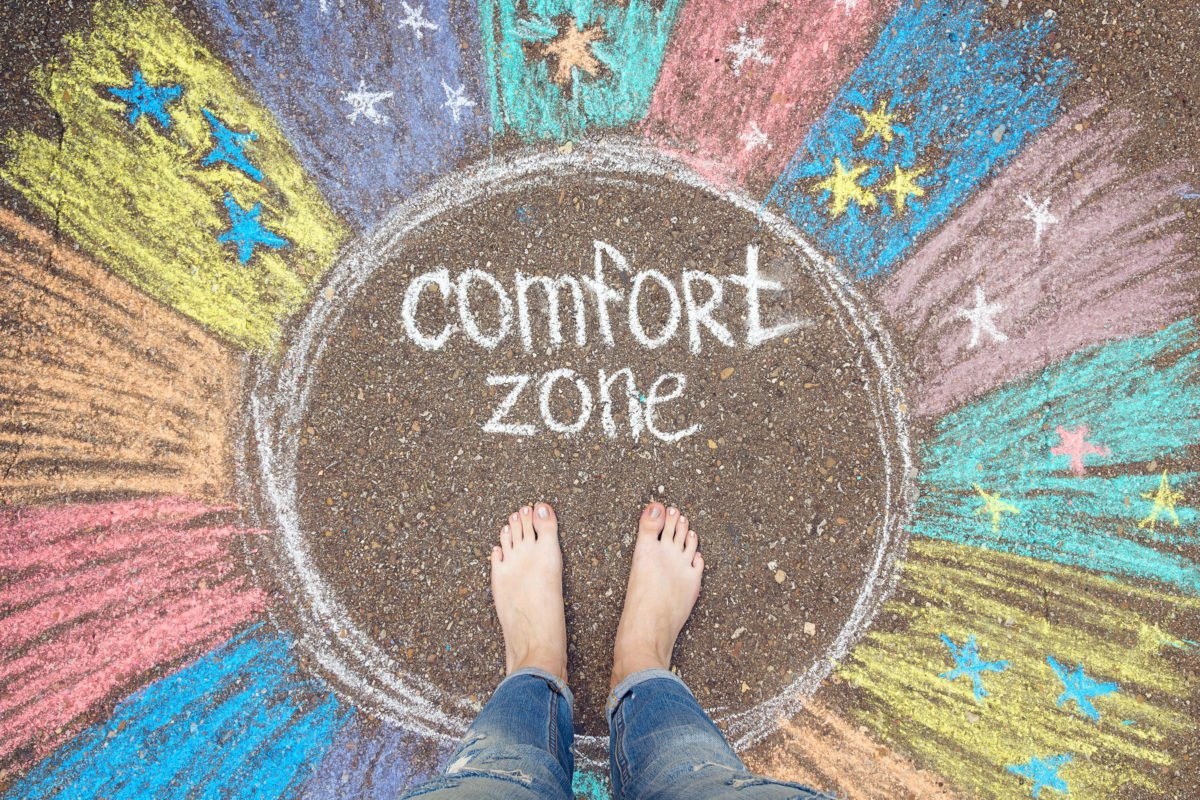 "Client Spotlight: ""Go Outside Your Comfort Zone"""